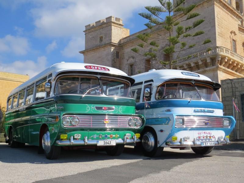 Traditional Malta Bus
