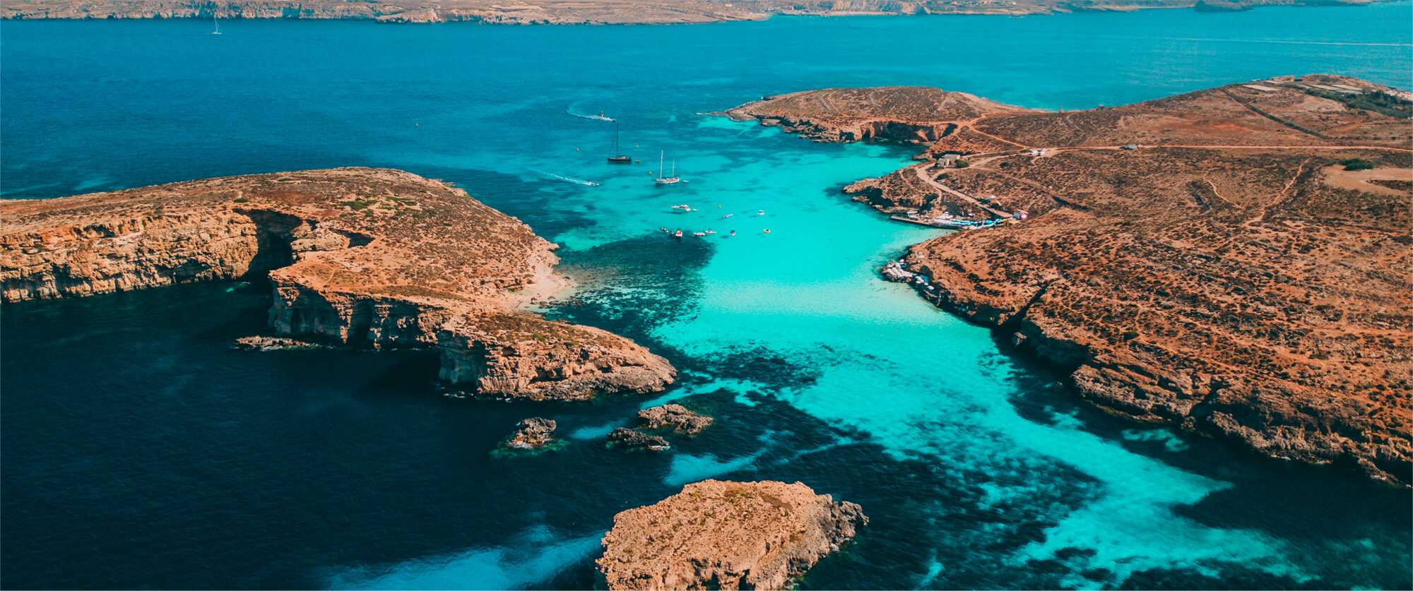 Stunning Blue Lagoon, Comino Island