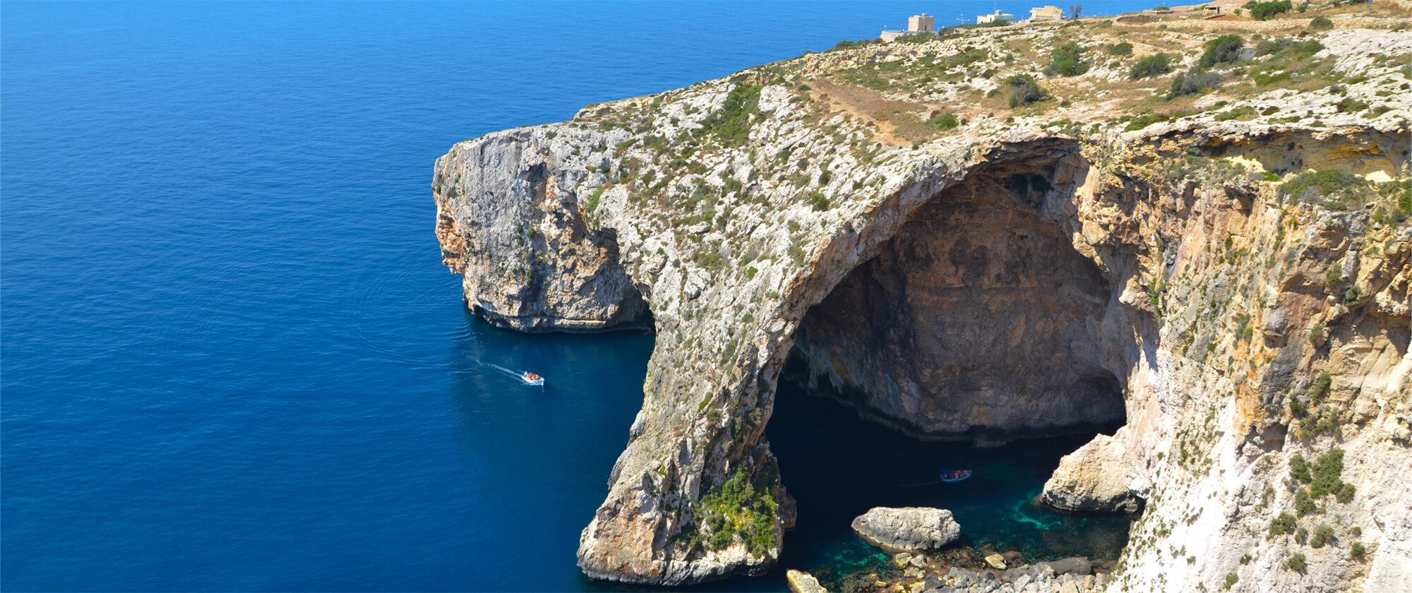Blue Grotto belvedere, Malta