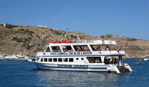 Gozo, Comino & Blue Lagoon Cruise Tour