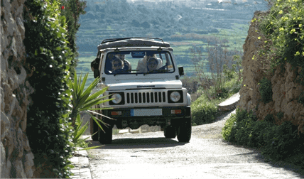 Gozo by Jeep + FREE Caves by Speedboat