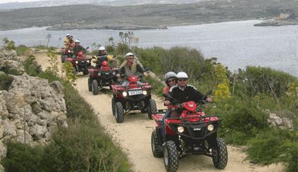 Gozo by Quad Bike + FREE Caves by Speedboat